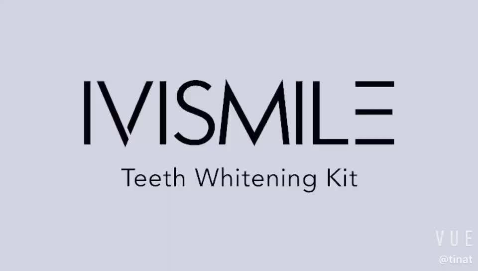 FDA Gecertificeerd Tanden Whitening Set Thuis Kit Mini LED Light Bleken Bitje-Shenzhen Glimlach Technologie