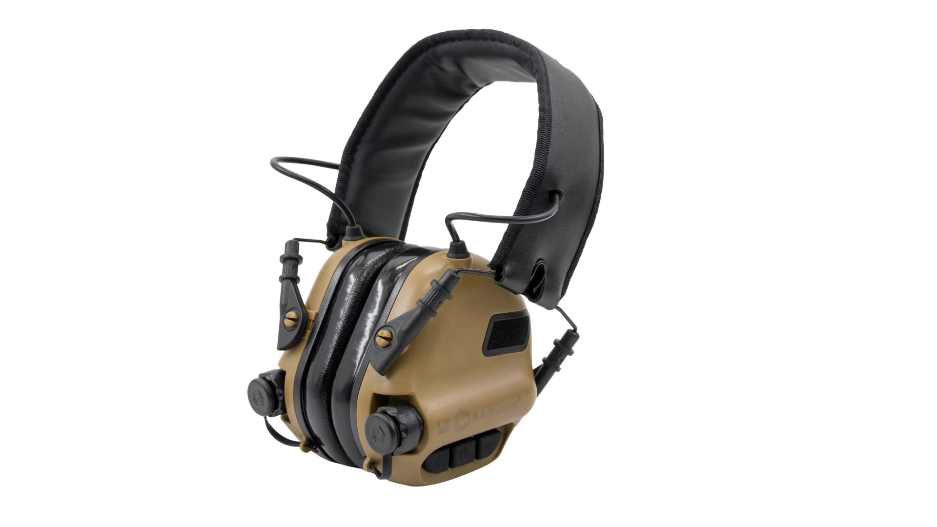 OPSMEN EARMOR M31 IPX5 Slim Low Profile Electronic Hearing Protector Range Shooting Hunting  Earmuff with AUX Input NRR22