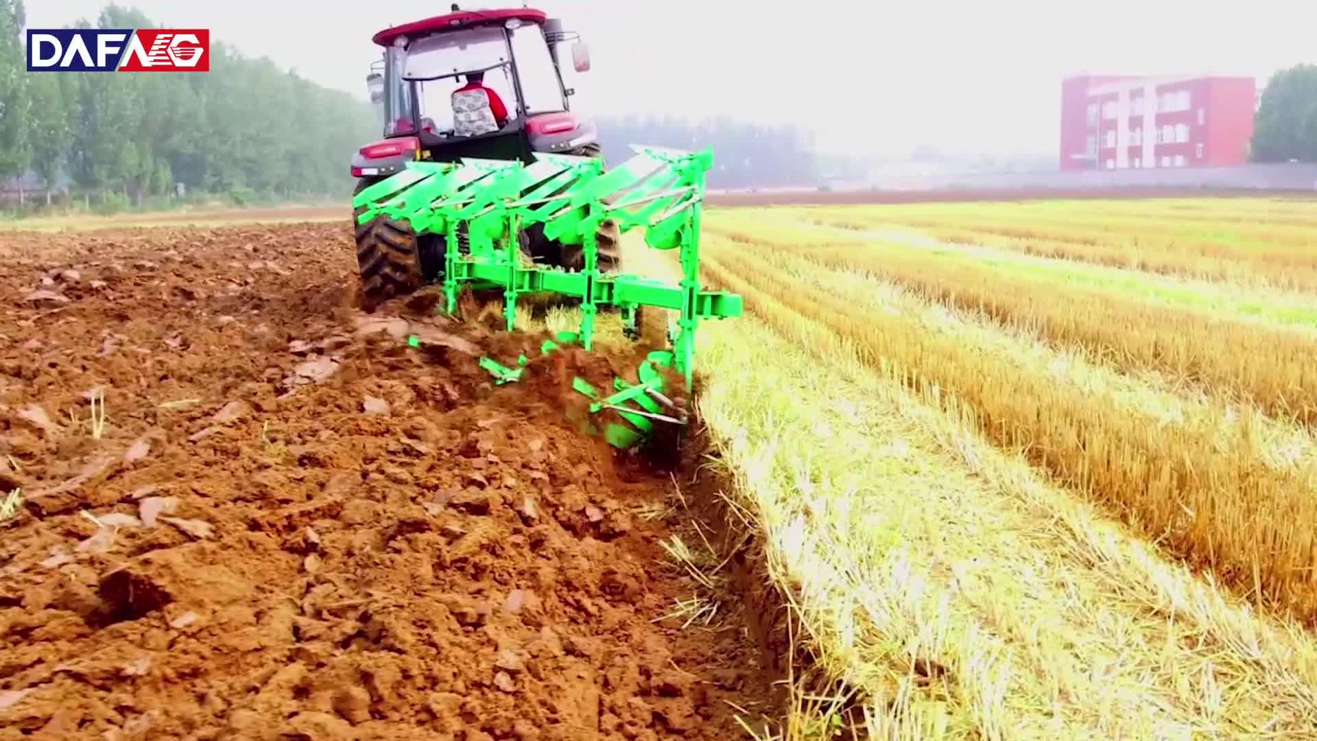 Desde 1995, fabricante chino de arado agrícola Reversible