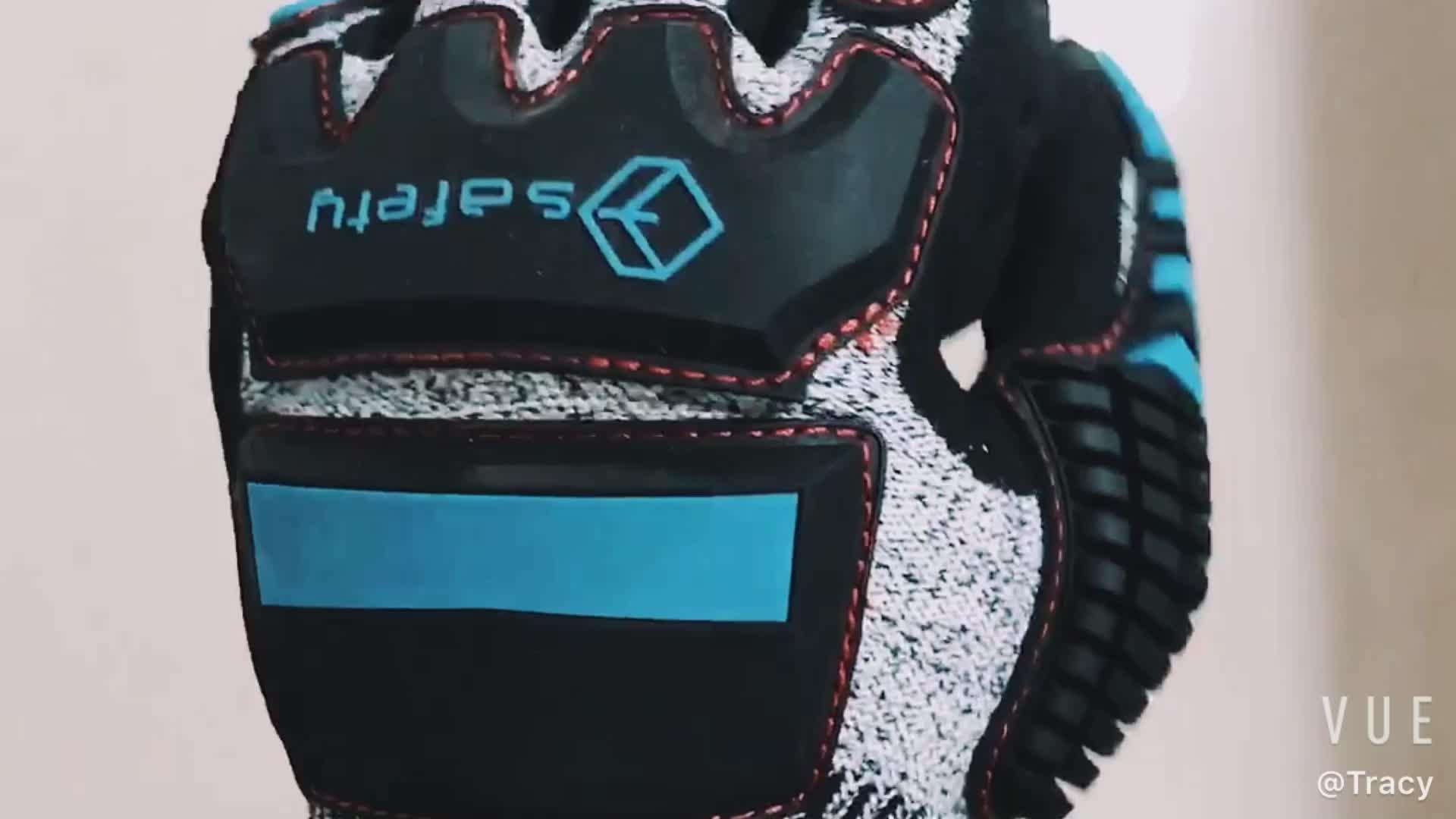 QL Steel Impact Resistant Anti Cut Gloves
