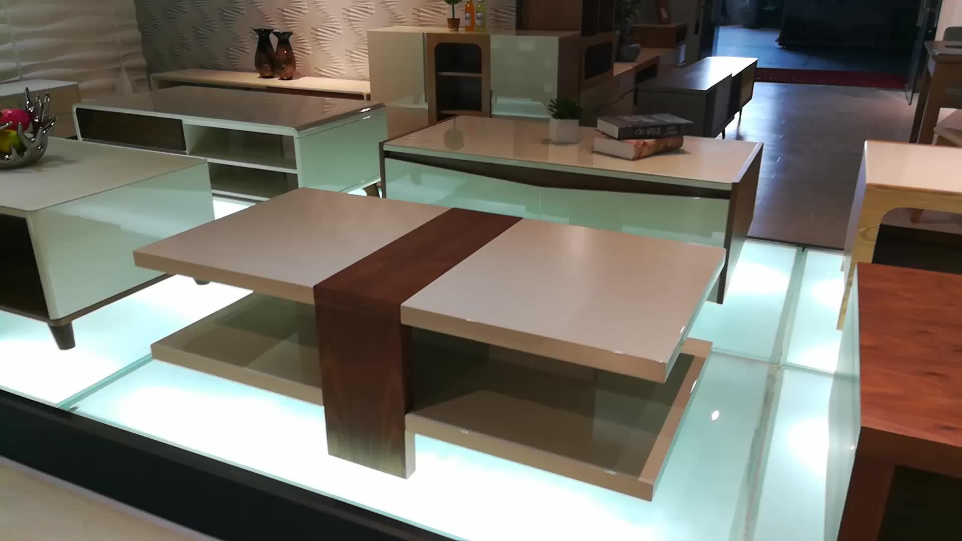 Living room furniture modern wood center table j865a buy - Wooden center table for living room ...