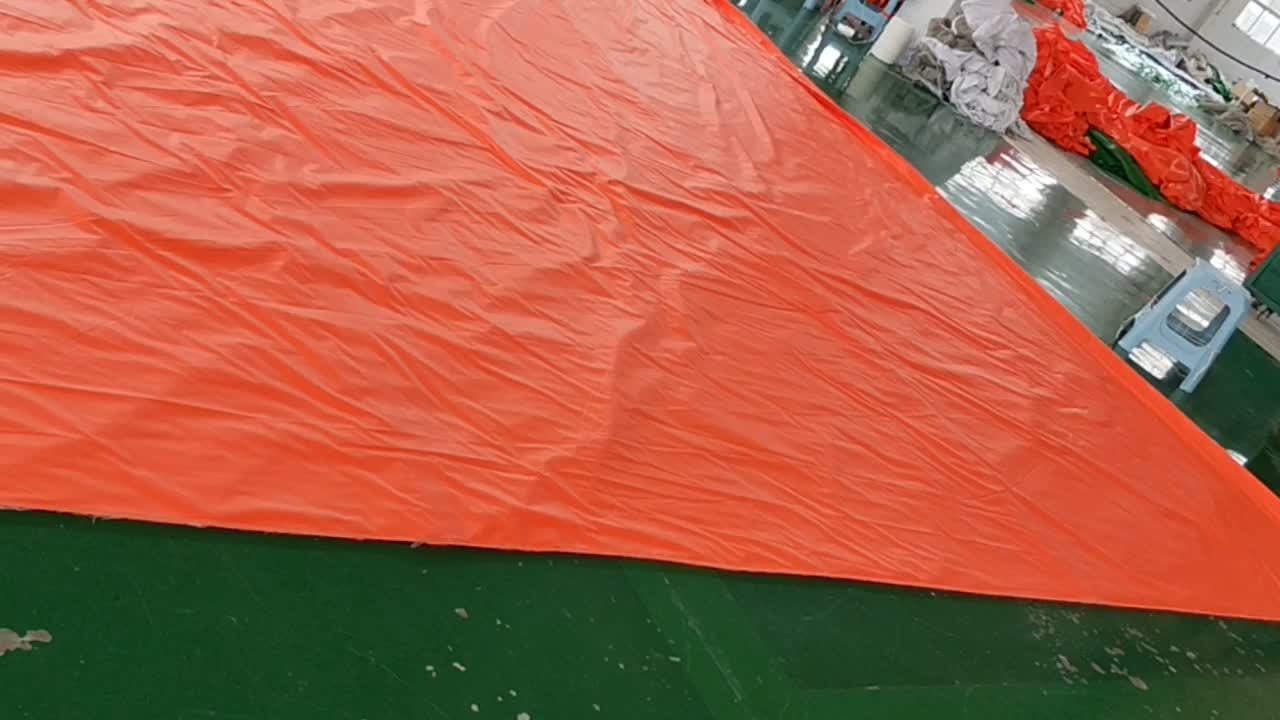 High Quality 20FT*20FT  300GSM PVC Fire Retardant Tarpaulin