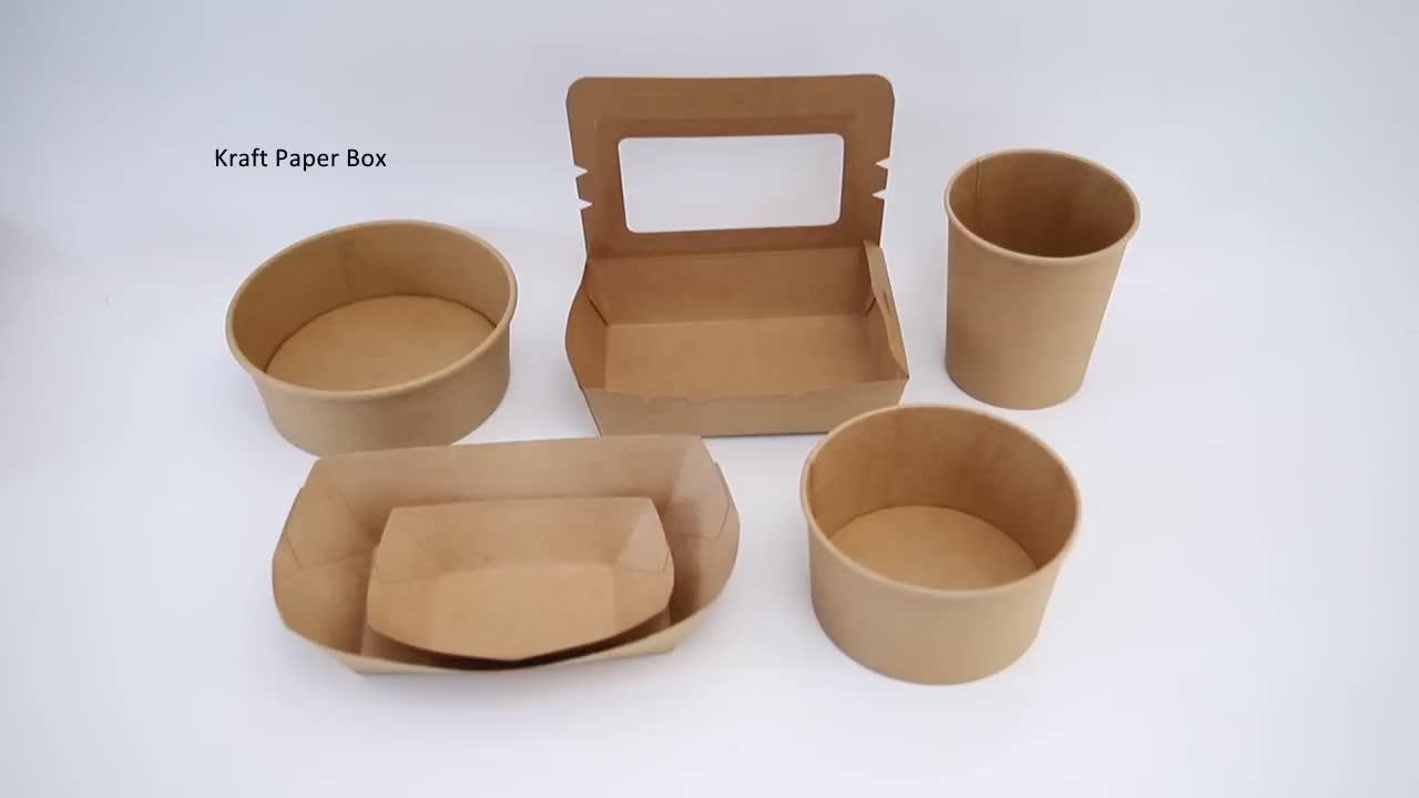 Impressos personalizados de sopa xícara de sopa com tampa copo descartável de papel kraft