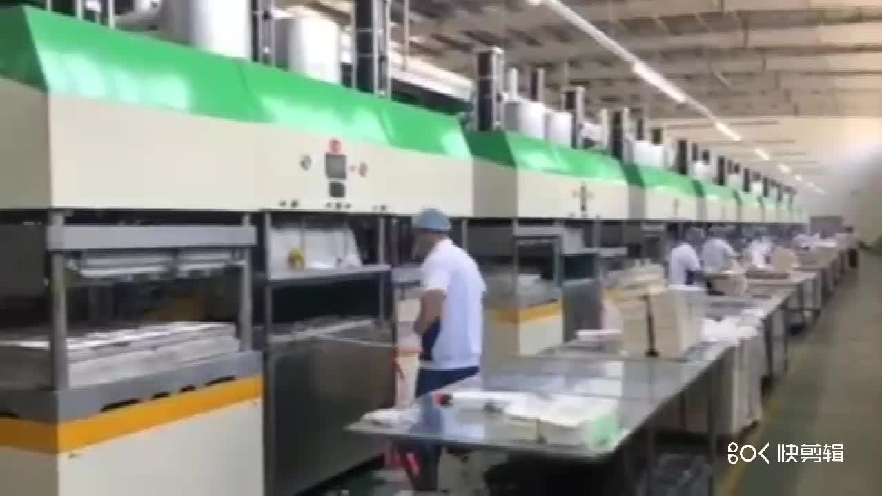 High quality one time use tableware making machine