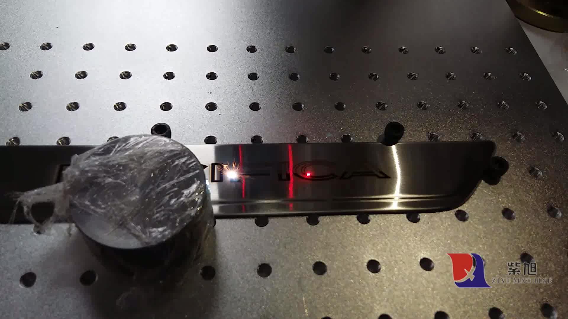 Chuke 20 W/30 W/50 W de mano máquina de marcado láser de fibra de Metal/piezas de automóviles