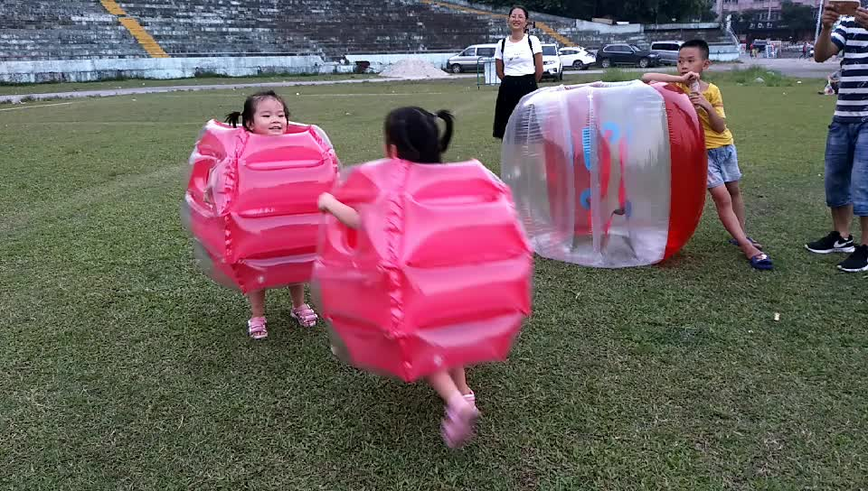 Inflate air children play toys big bubble ball for sale
