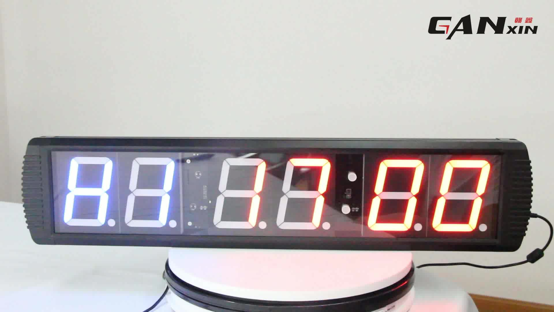 [Ganxin]Customized 4'' Large Interval Timer Indoor Use Alibaba Gym Equipment Led Timer