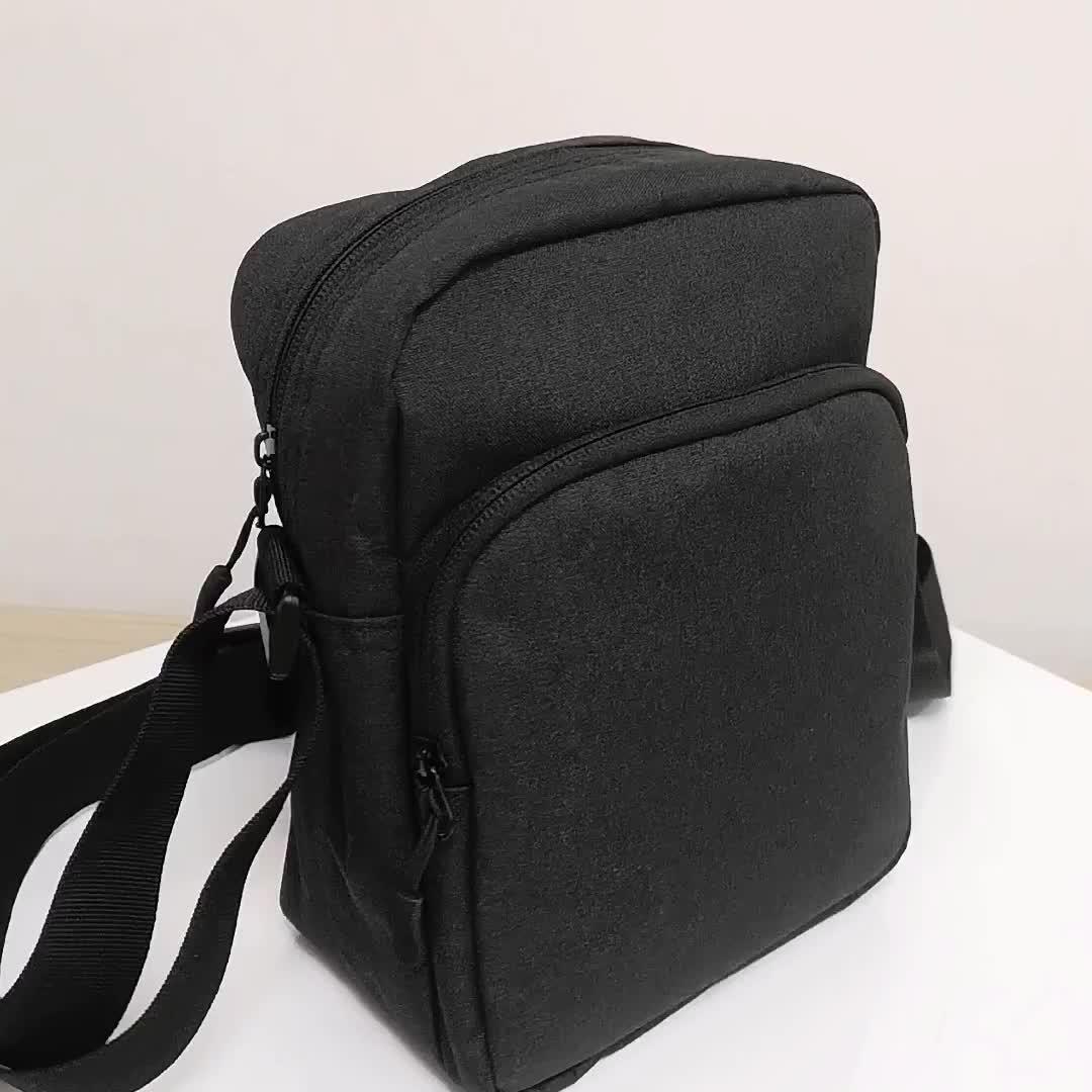 โลโก้ที่กำหนดเอง casual utility travel mini crossbody กระเป๋ากระเป๋าไหล่เดี่ยว messenger กระเป๋าสำหรับผู้ชายผู้หญิง