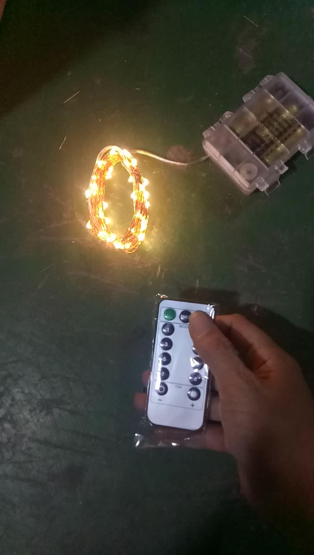 Prese di fabbrica 33ft 100 led impermeabile luci della stringa garland con wifi remote controller all'ingrosso