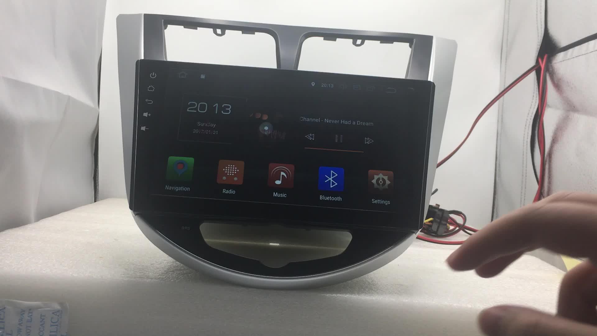 10.1 pollici car multimedia android 8.0 per Toyota Camry 2012-2014 sistema di navigazione gps