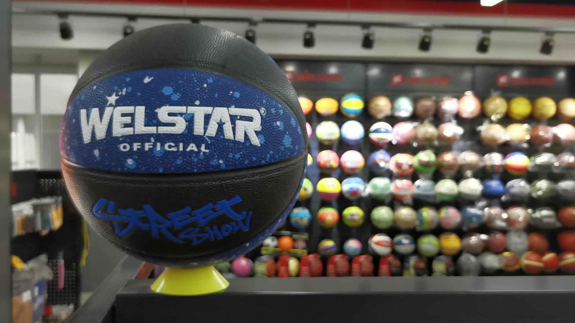 High quality customized  PU laminated  basketball ball