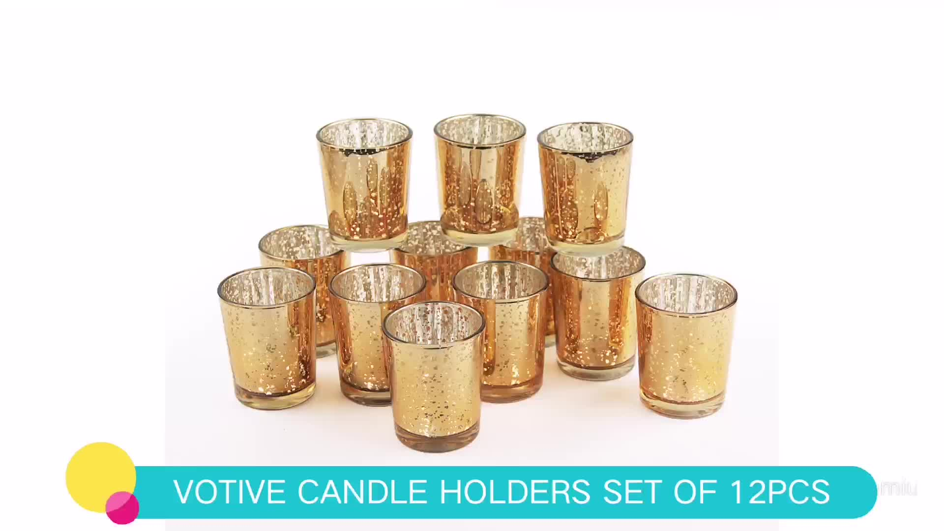 Hot Sale Customized wedding decoration centerpieces with tea light candle holders