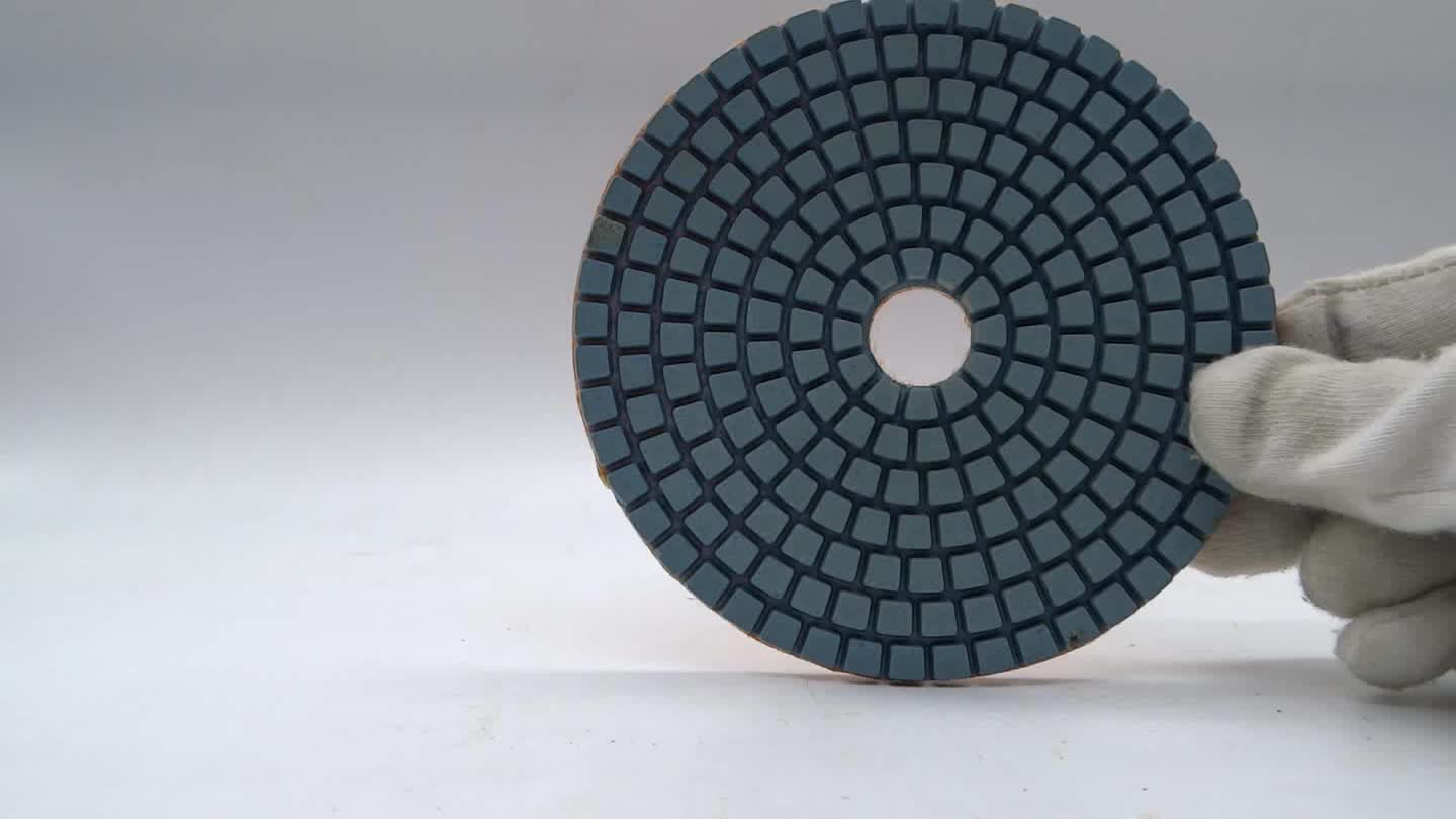 Wet polishing diamond pads 100mm/disc for marble polish