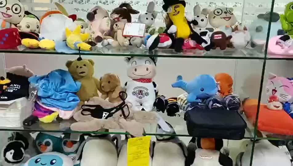Personalizzato Sacchetto Della Matita Studenti Forniture Cassa di Matita Sveglio della Peluche Farcito Giocattolo Per I Bambini