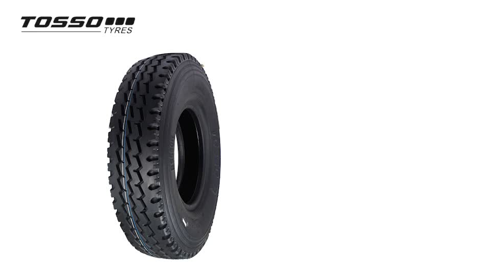 TOSSO Brand Tires 7.50r16 Tire Weight 7.50r16 7.50-16