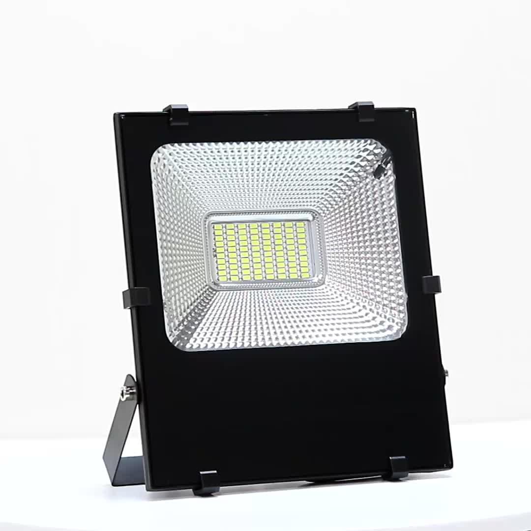 Chất lượng cao không thấm nước ip65 ngoài trời thông minh 24 w 40 w 60 w 100 w smd năng lượng mặt trời dẫn nhẹ lũ lụt ánh sáng