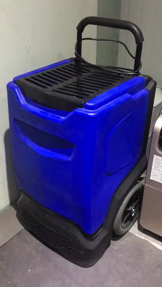 90L/day Plastic Shell Rotomolding Industrial dehumidifier