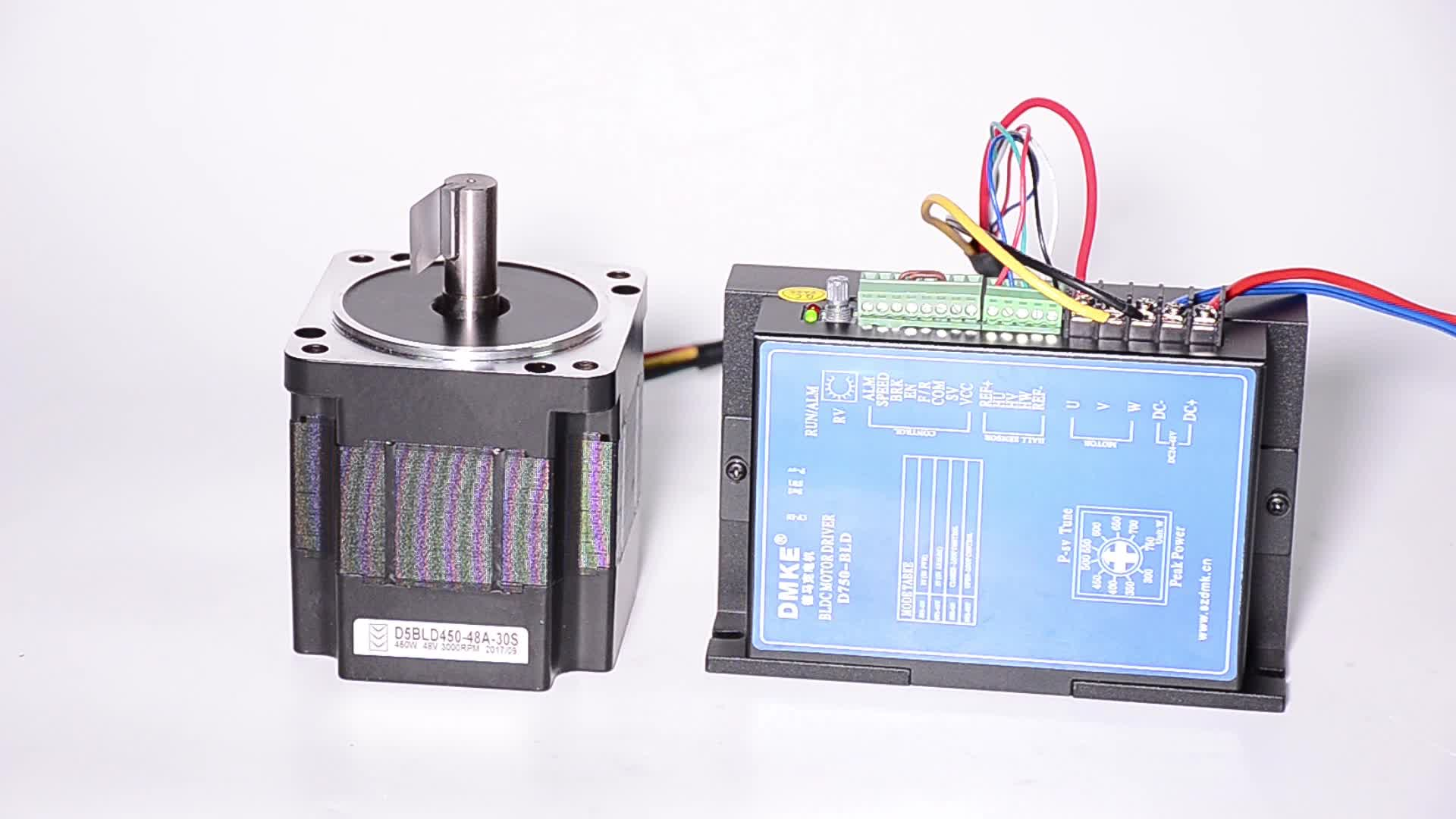 48 voltage 86MM Brushless dc motor with 3000 rpm