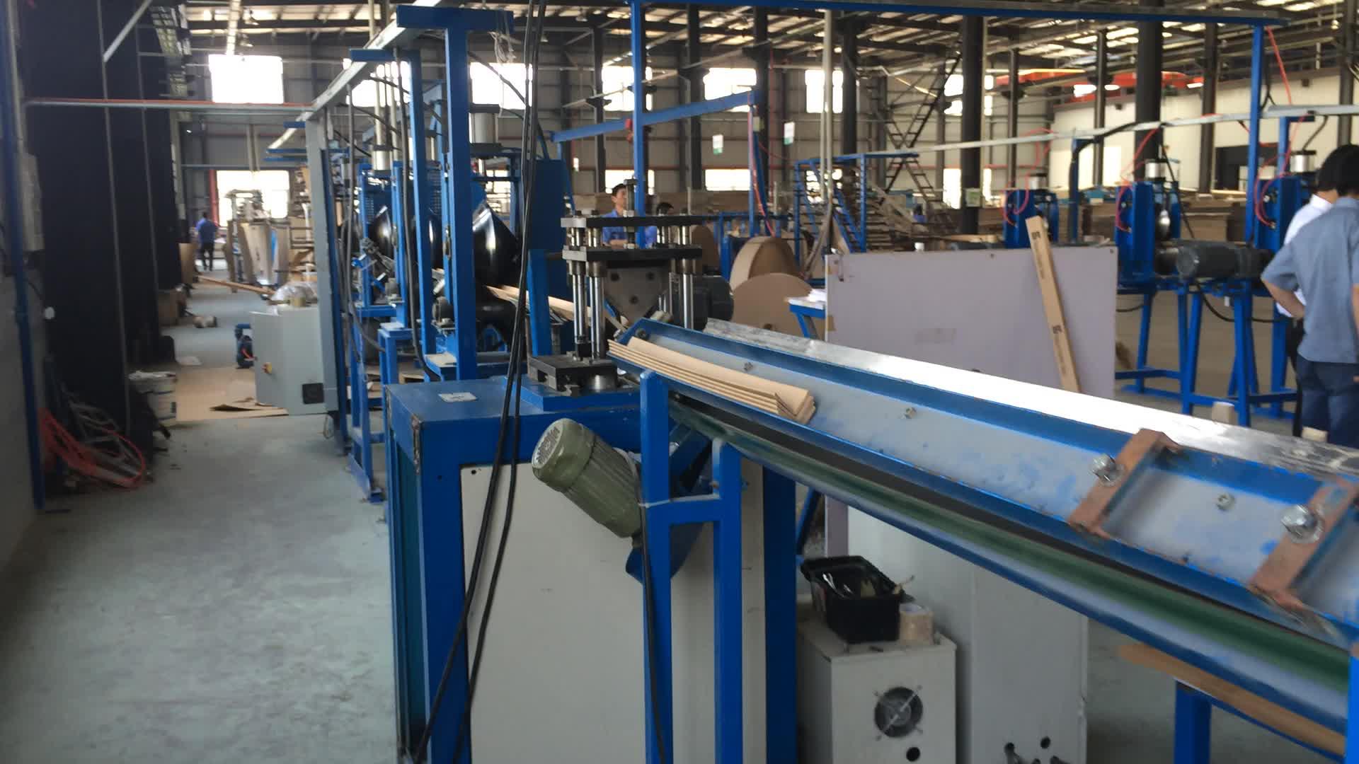 全自動多機能紙角ポストボード製造機