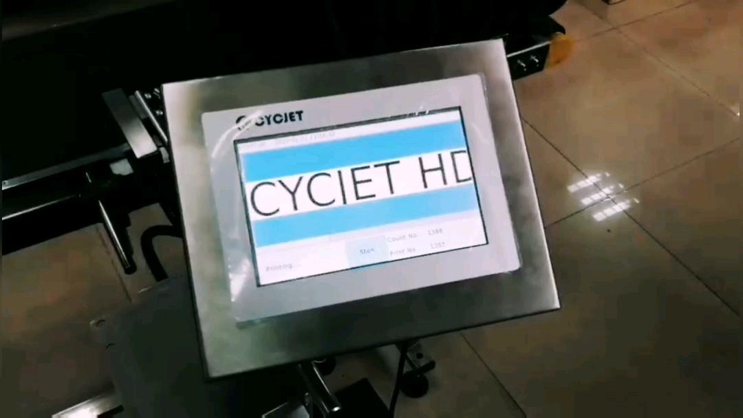 CYCJET ALT200 อัตโนมัติวันที่รหัสการพิมพ์สำหรับทอกระเป๋าพิมพ์