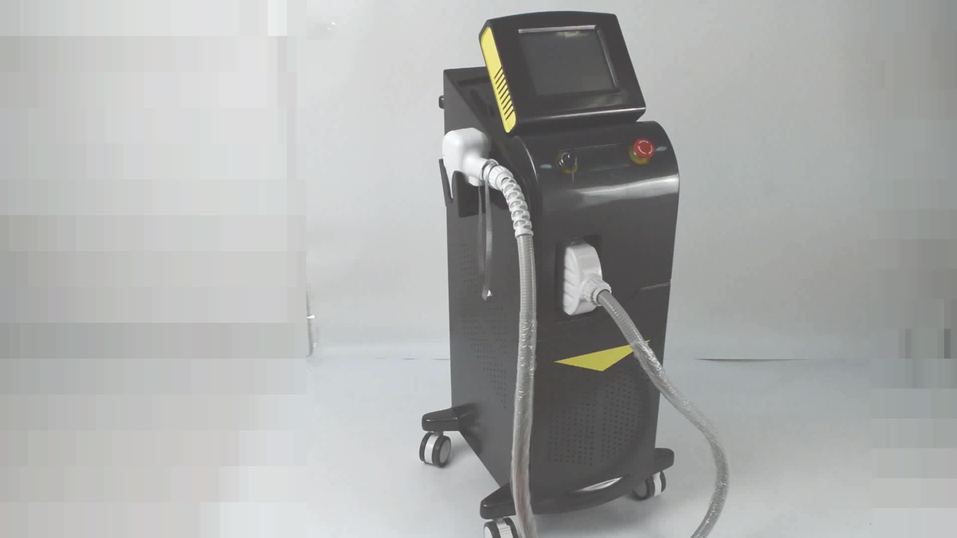 U.S FDA, CFDA, duitsland TUV CE0197 Goedgekeurd Ontharing Laser Diodo 808