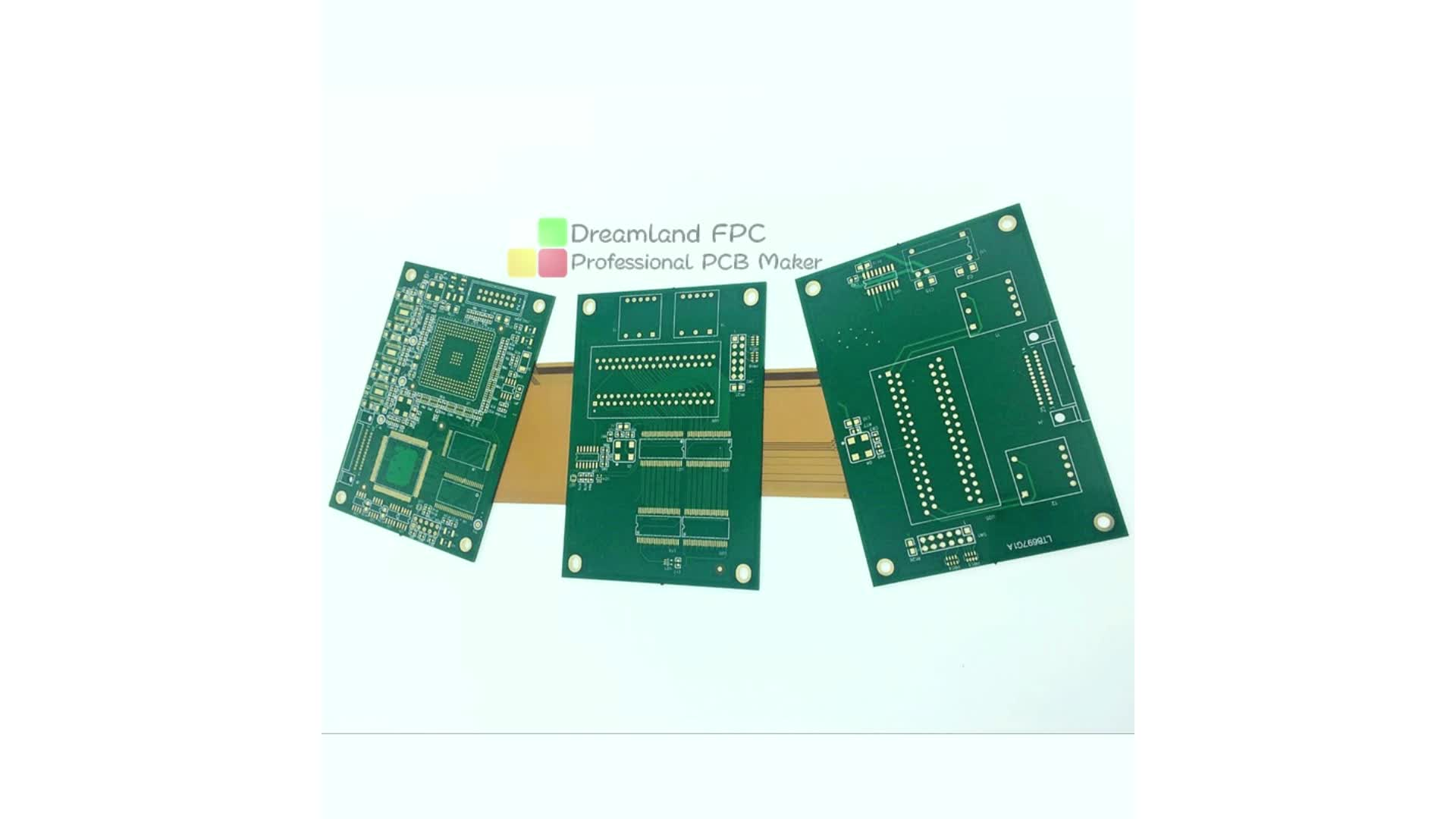 OEM HASL FR4 Material Electronic Quick Turn 2L 4L PCB Circuit Board PCBA Assembly