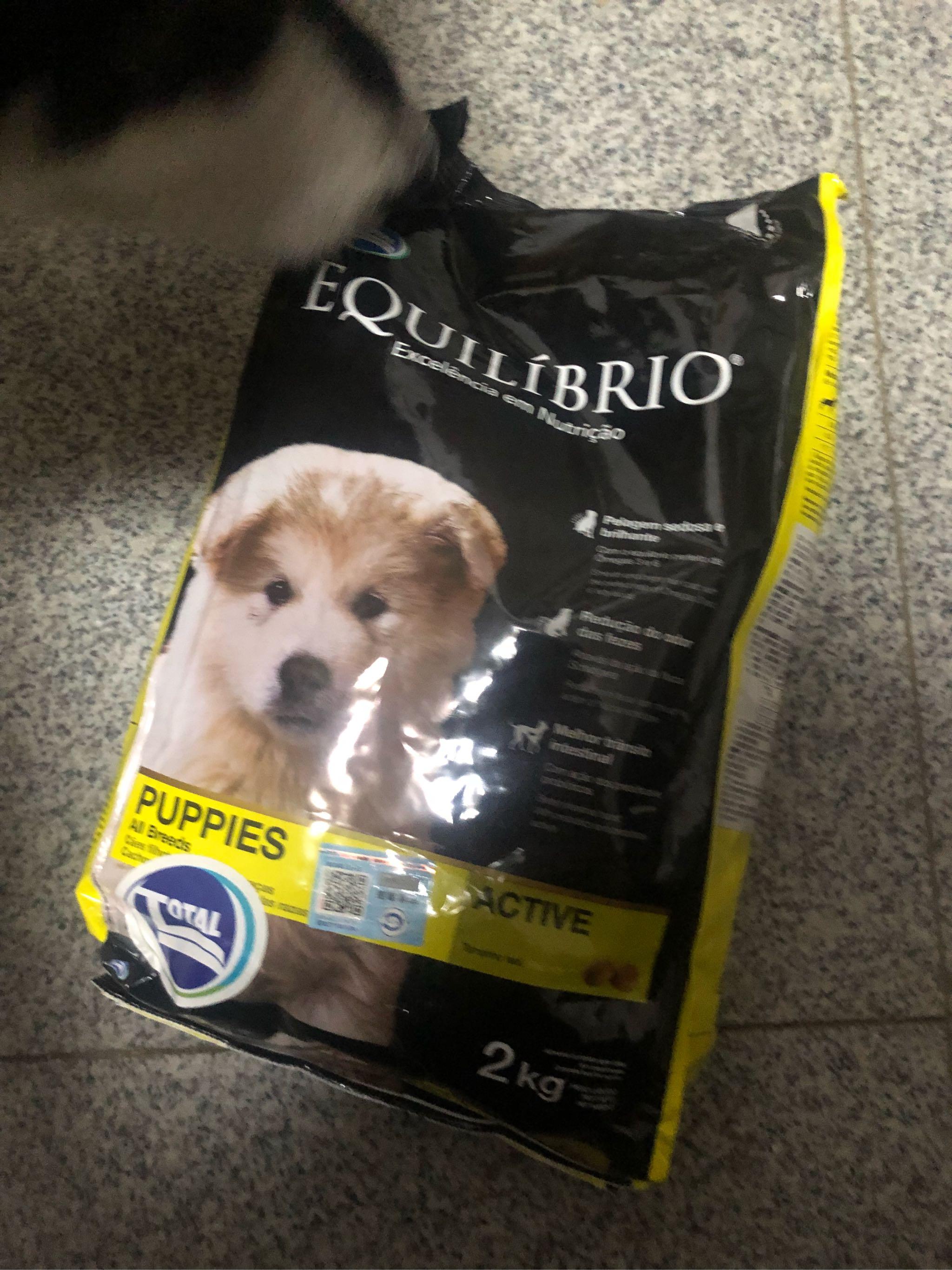 巴西淘淘天然狗粮比一般的狗粮要油一些,其它都很好
