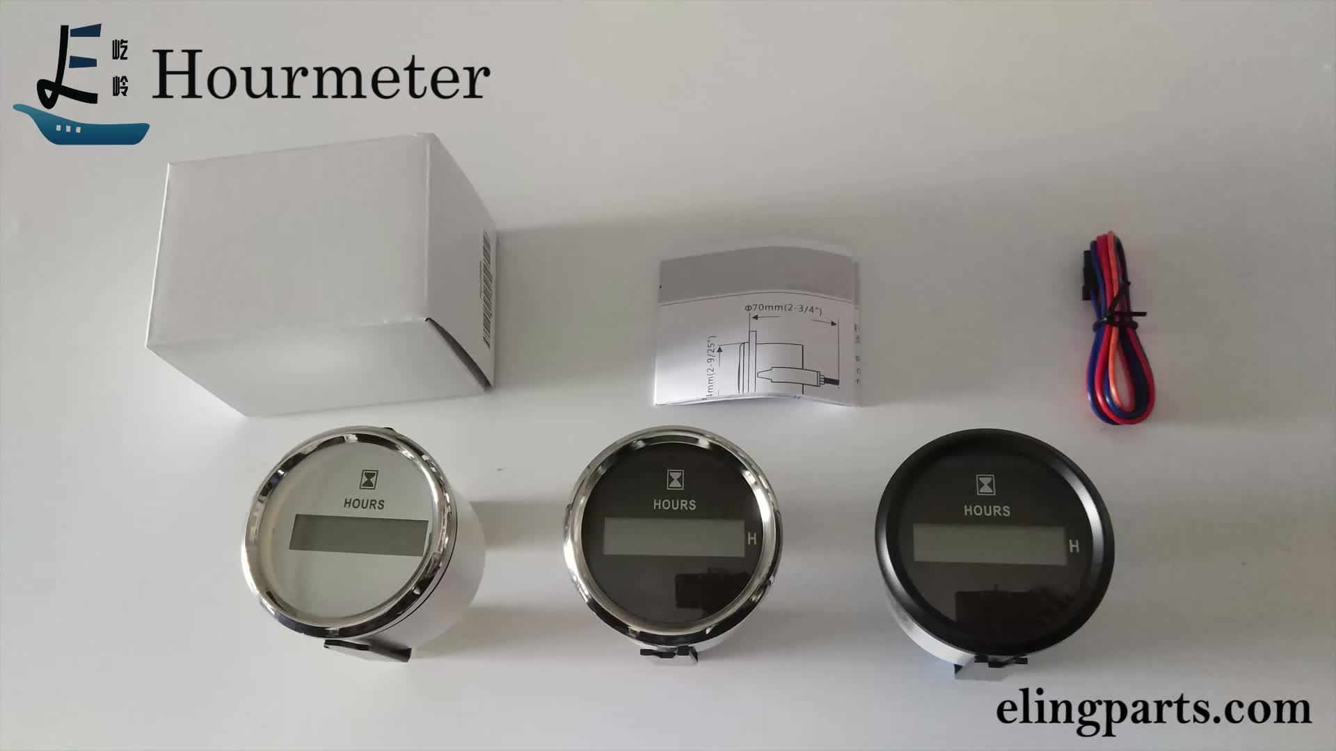 52mm LCD 디지털 타이머 기계적 엔진