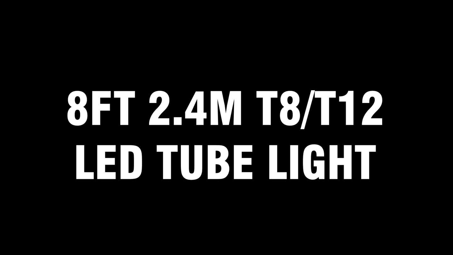 High quality OEM ODM 45W FA8 R17D G13 2.4M 8Ft T8 T12 Led Tube Light