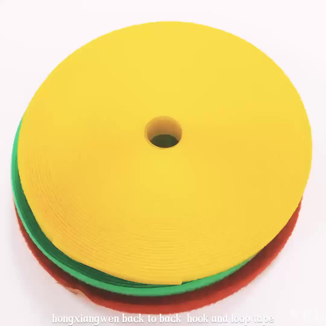 Hook and Loop Thin Self-gripping Nylon Cable Ties Roll