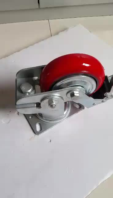 Ball Bearing large Shock Absorber Caster
