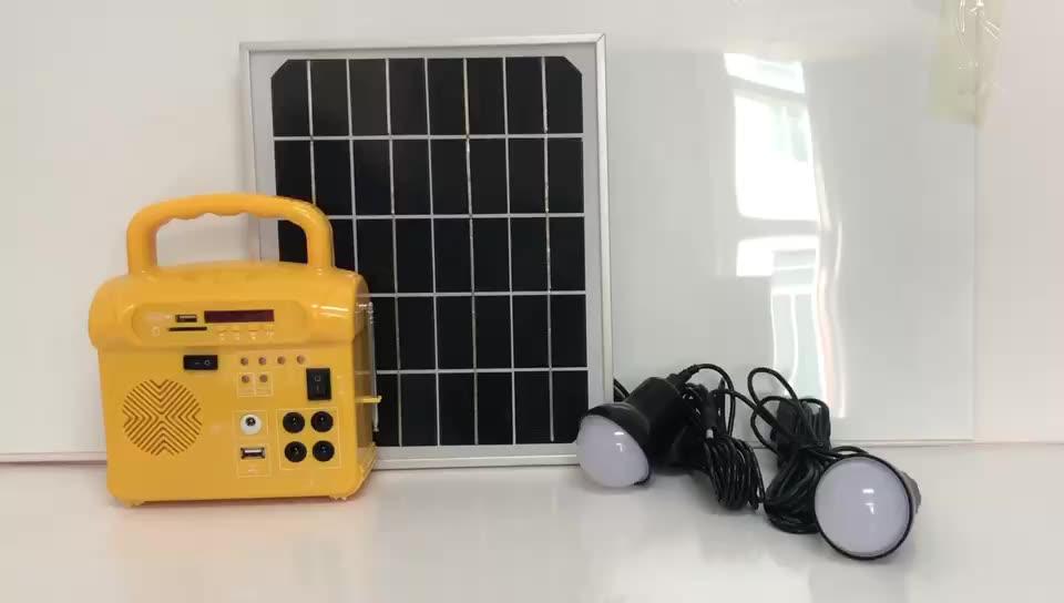 Portable Solar Power System 12V Ausgang
