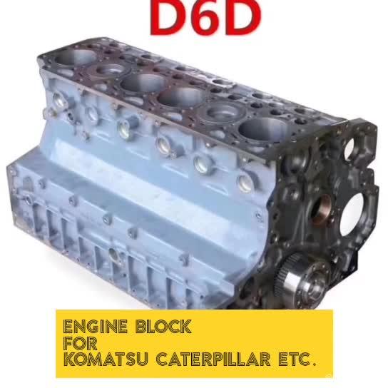 Suku Cadang Mesin 6BD1 6BG1 DB58T Kepala Silinder untuk Isuzu Fsr Mesin Diesel