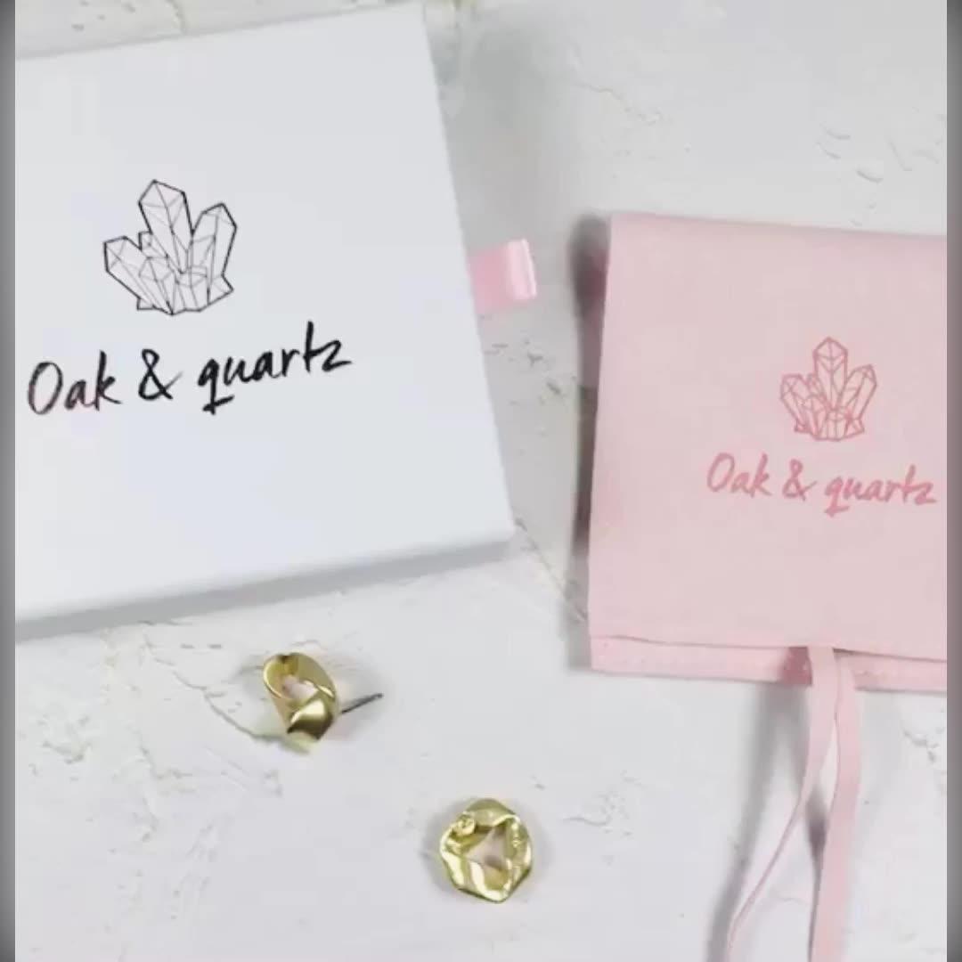 Nach Verpackung Beutel Gedruckt Karton Schublade Box Plus Rosa Samt Tasche Tasche Strap, Schmuck Schublade Box Und Beutel