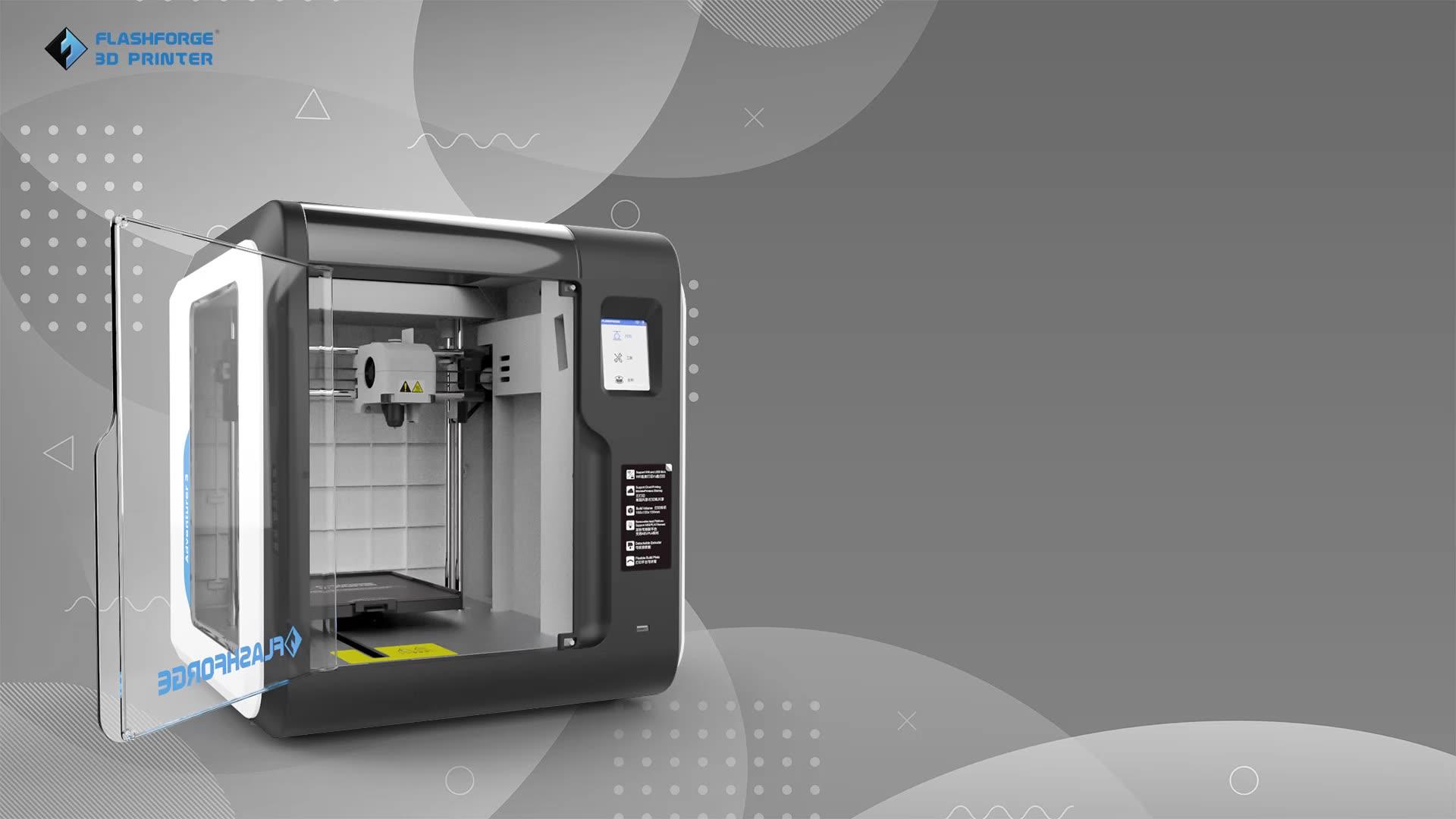 Flashforge Adventurer 3 3D Printer Best 3d Printer for Beginner
