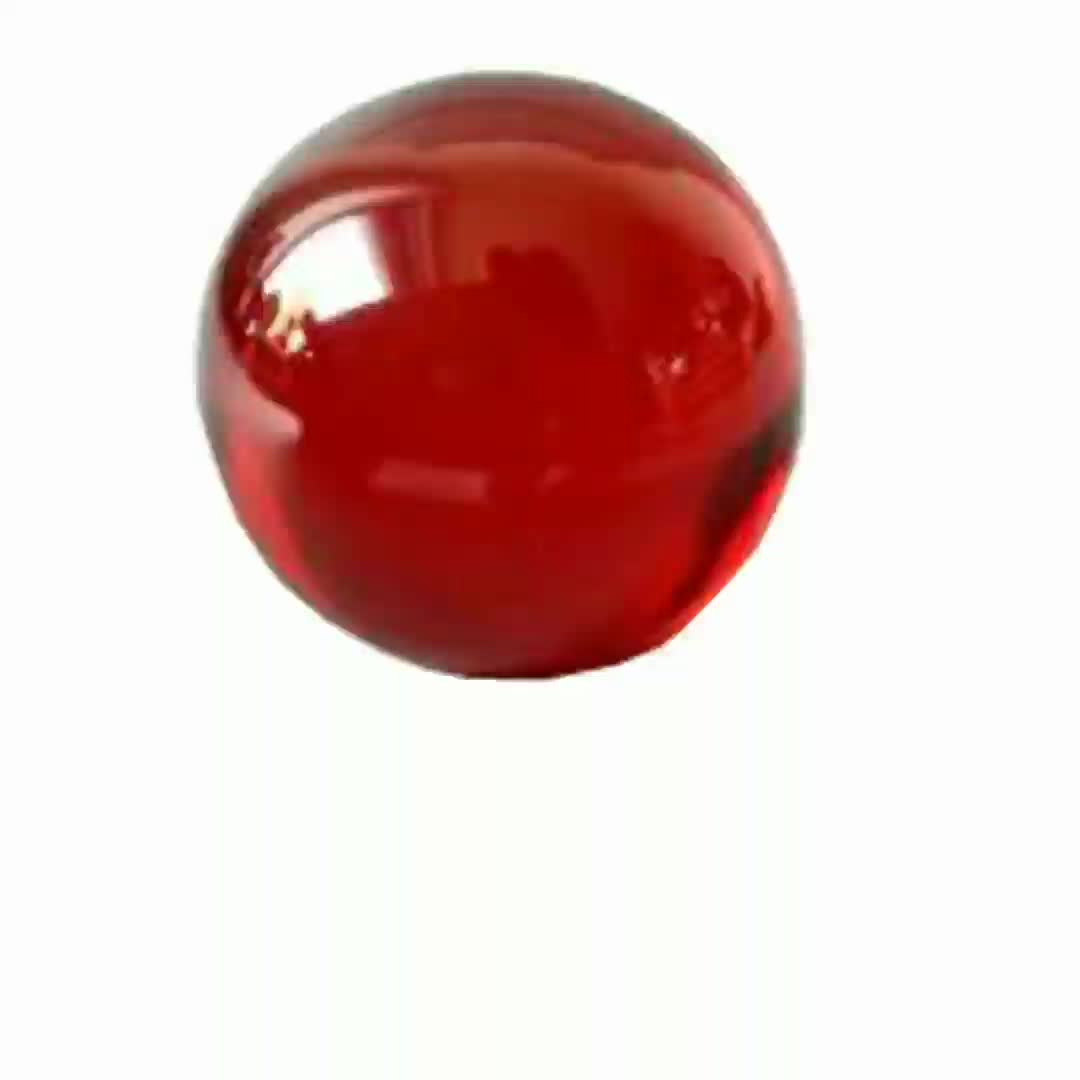 Synthetische rubin kugel
