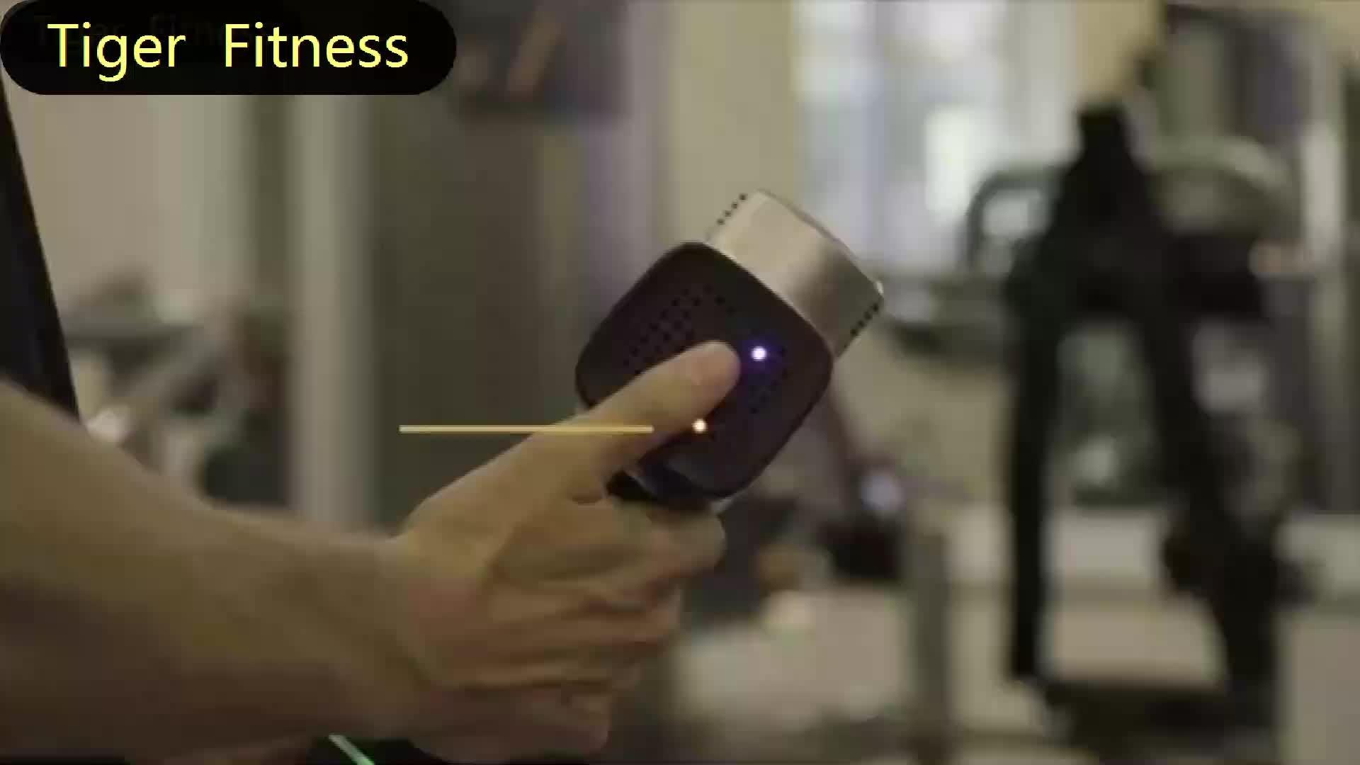 Tigre Fitness amazon vente chaude profonde thérapie de tissu de haute qualité portable ABS massage pistolet
