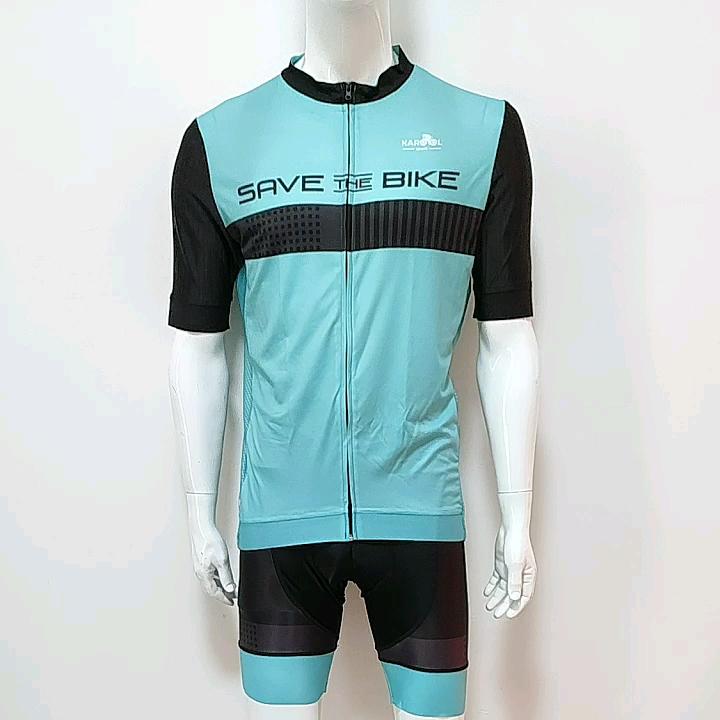 China Manufacturer Customized Cycling Jersey and Bib Shorts Set