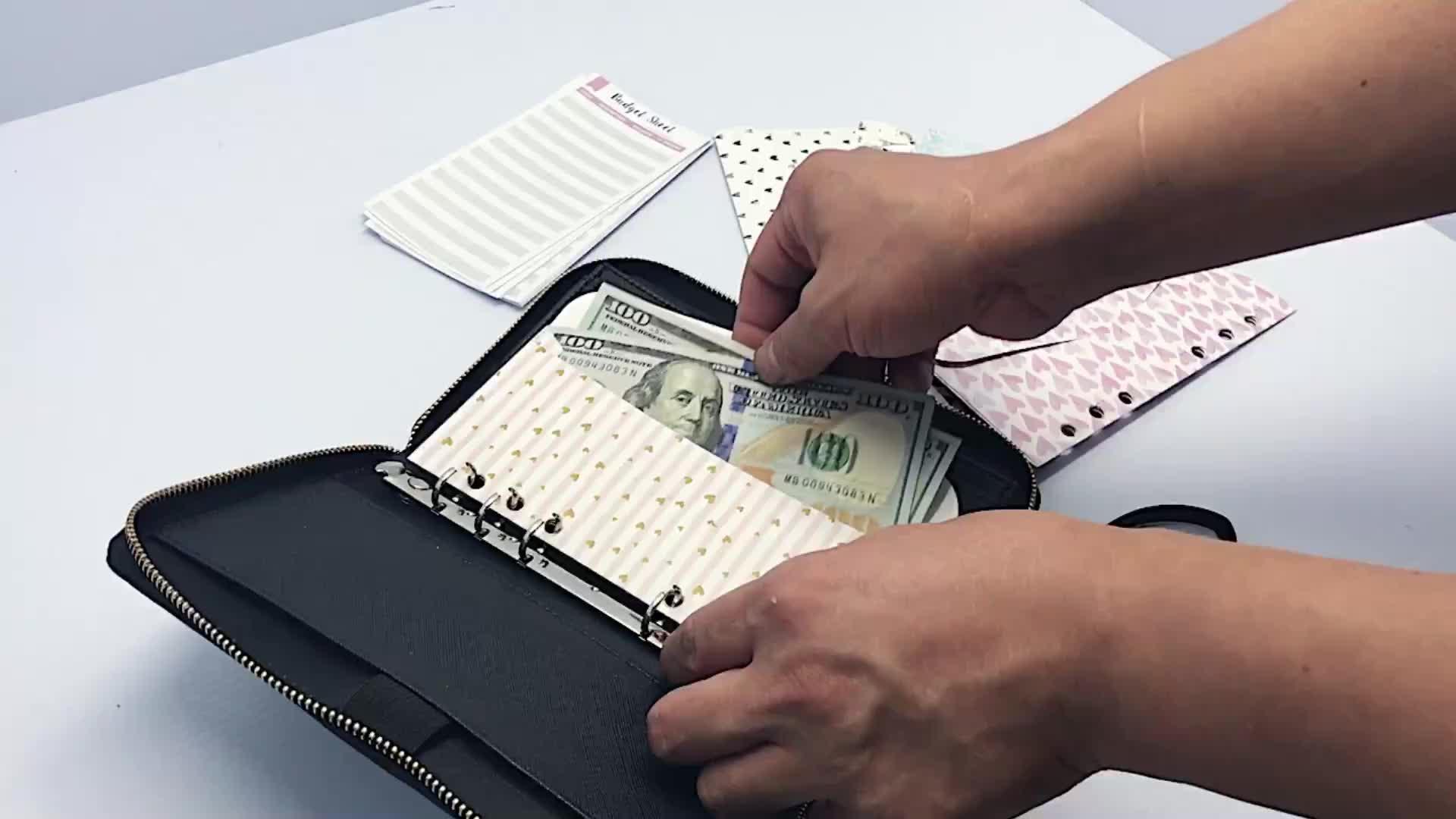 12 ламинированных денежных конвертов кошелек с вкладками включает в себя 12 балансовых трекинговых листов и наклеек с вкладками система наличных конвертов