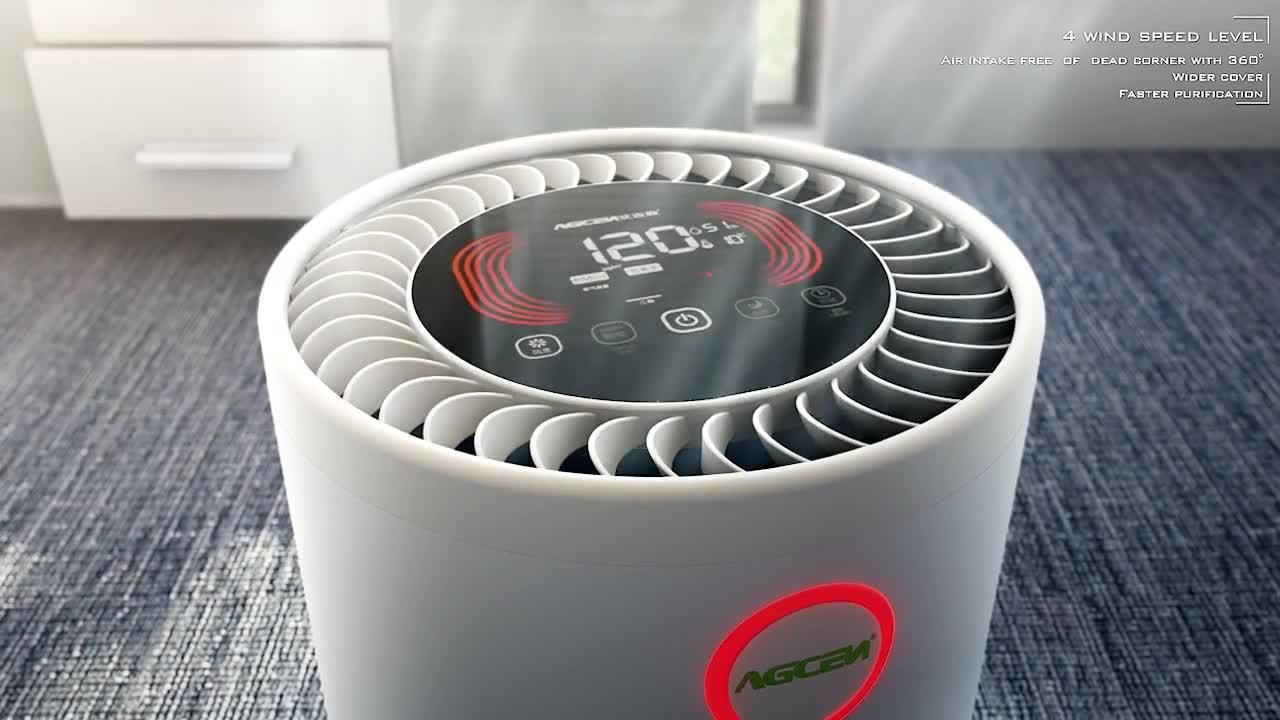 OEM ODM Camera Filtro Hepa Elettrodomestici Ozono Generatori di Ioni Positivi Filtro Aria di Casa Camera Depuratori D'aria