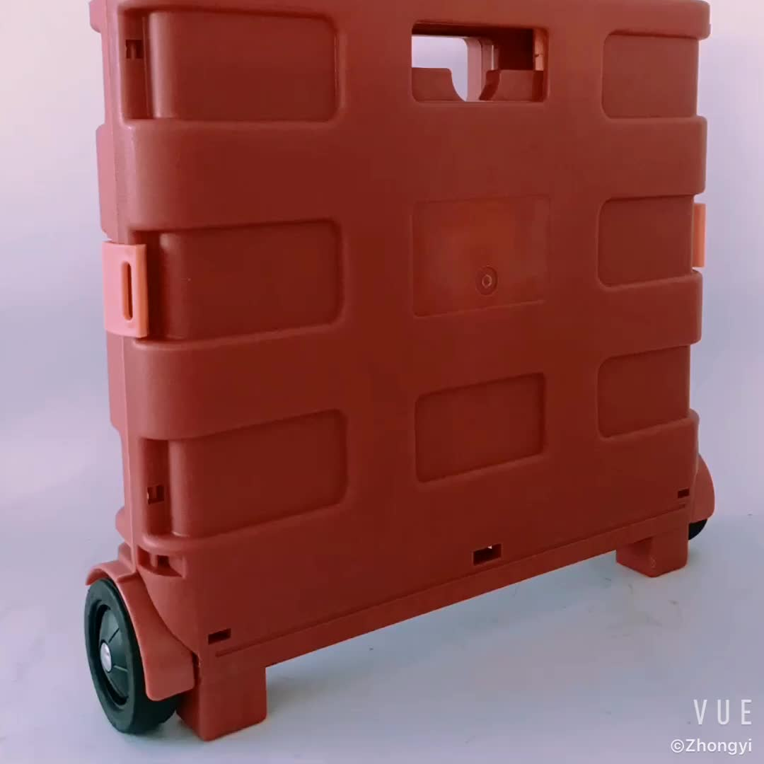2018 Foldable Hand Cart Trolley With Wheels