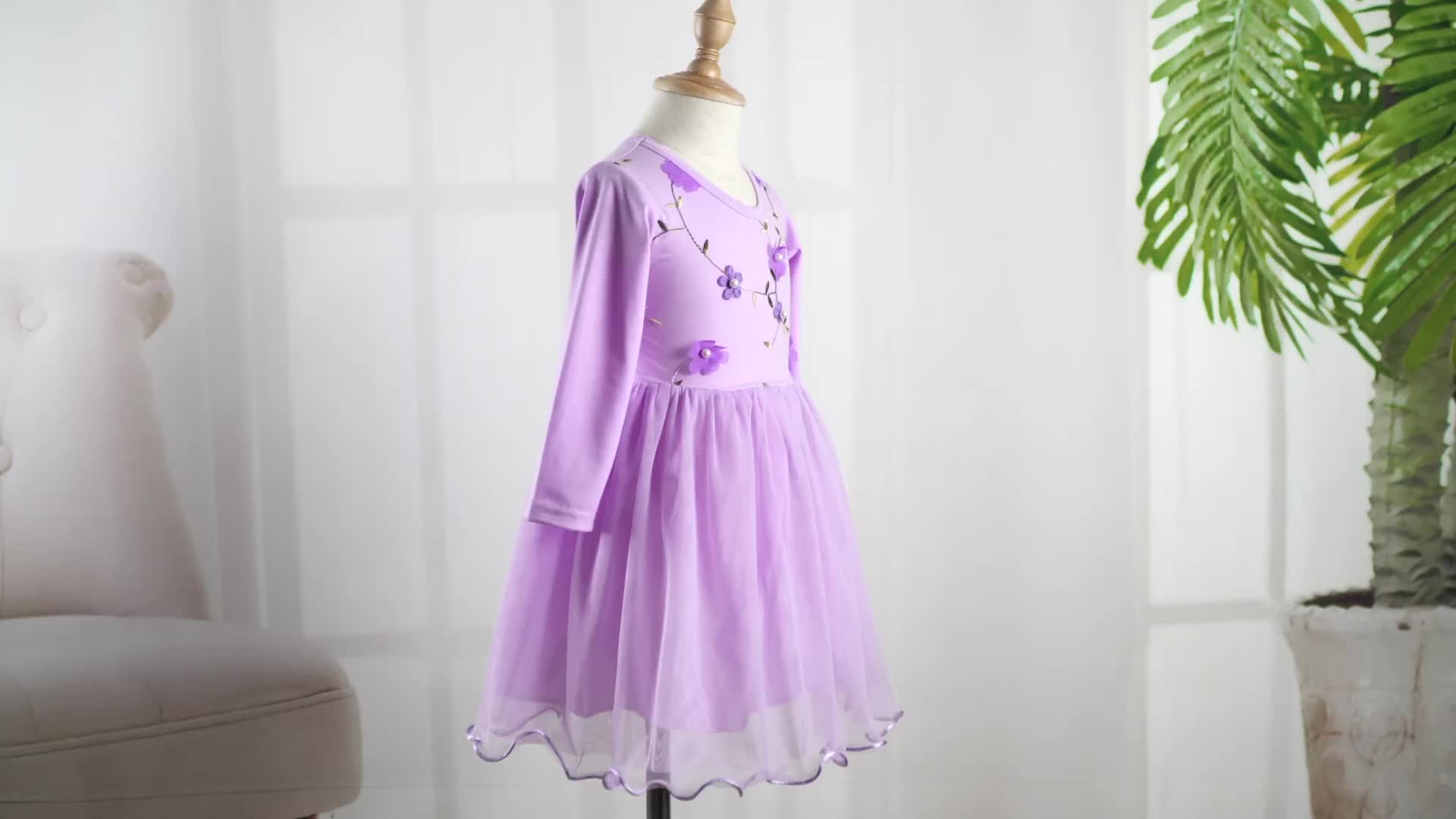 Nieuwe Aankomst Kinderen Kleding Baby Meisje Pasgeboren Jurken Doop Kleding Kinderen Fancy Dress