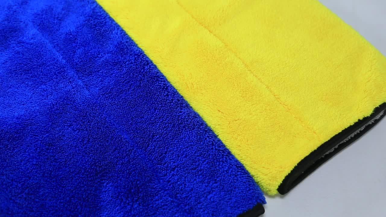 Sunland Microfiber Car Towel Cleaning Wholesale