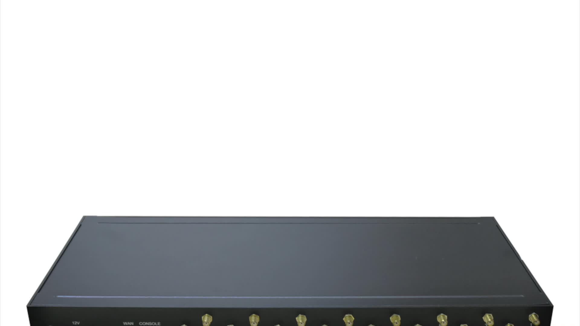 新しいソリューション抗 sim カード Blocking16 ポート 64 sim カードの voip ゲートウェイ