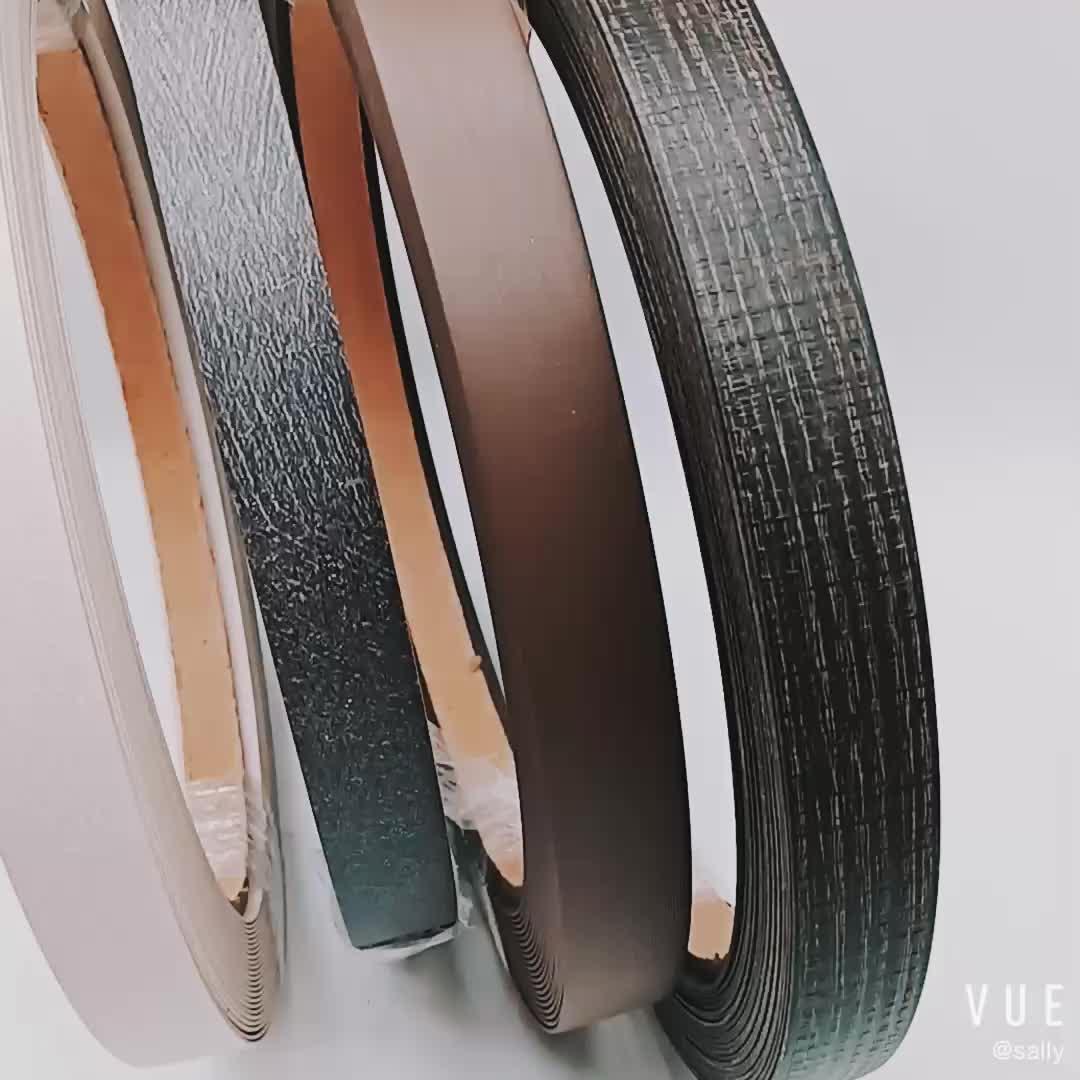 SGS Disetujui Sudah Terprogram Warna Kayu Melamine Edge Banding Tape