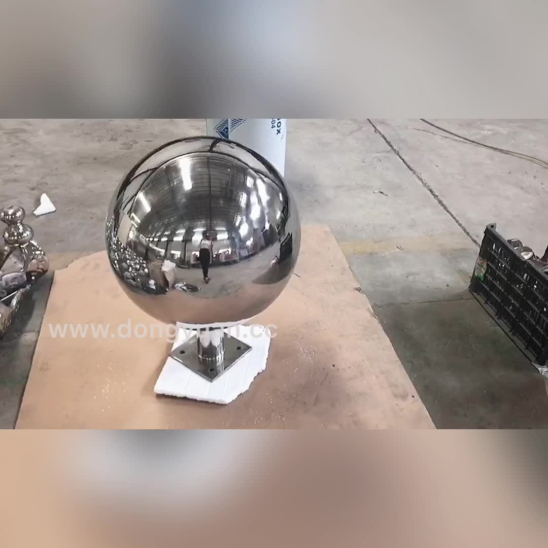 Gazing Stainless Steel Pond Ball/ Metal Steel Decorative Floating Ball