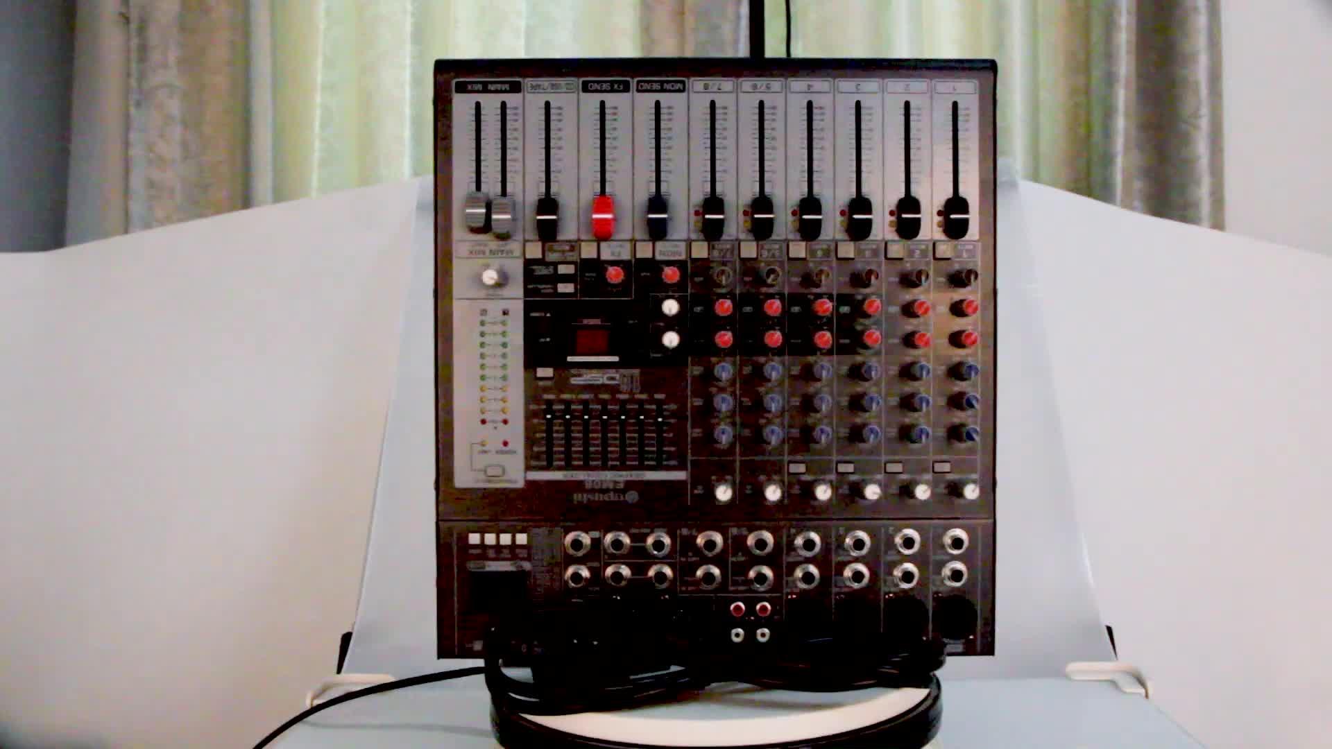Nacht club professionelle dj lautsprecher mischer 8-kanal audio mixer usb