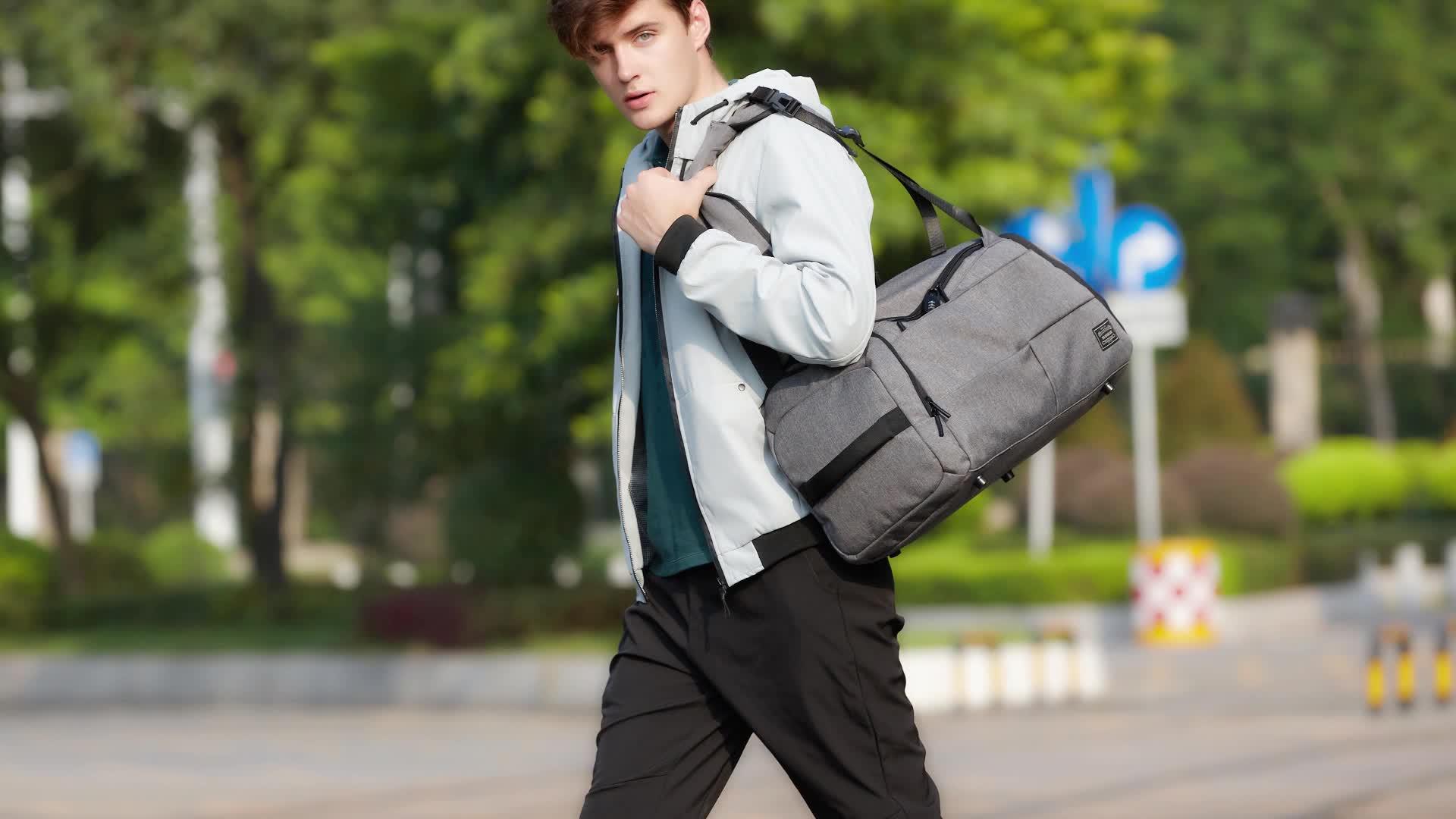 Sacs de voyage de mode chaussure compartiment caché sac de voyage