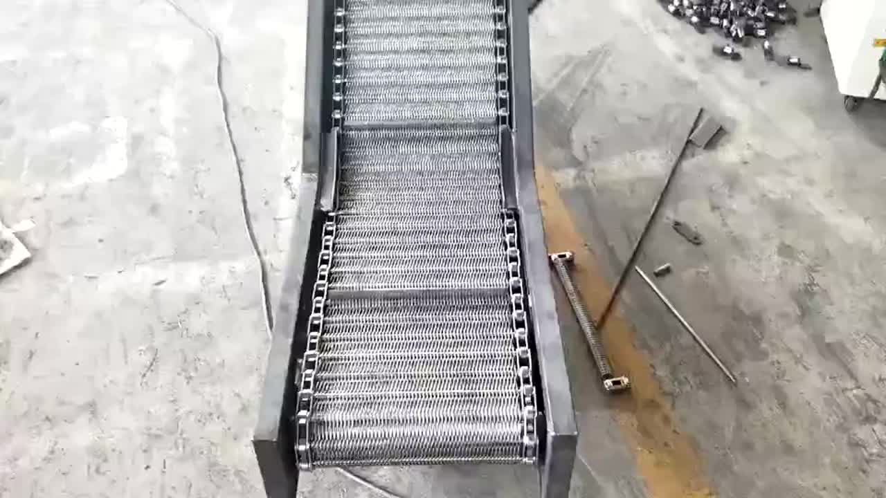plastic flat top chian conveyor turing chain  industrial drive chains roller chain slat conveyor chain plastic conveyor belt