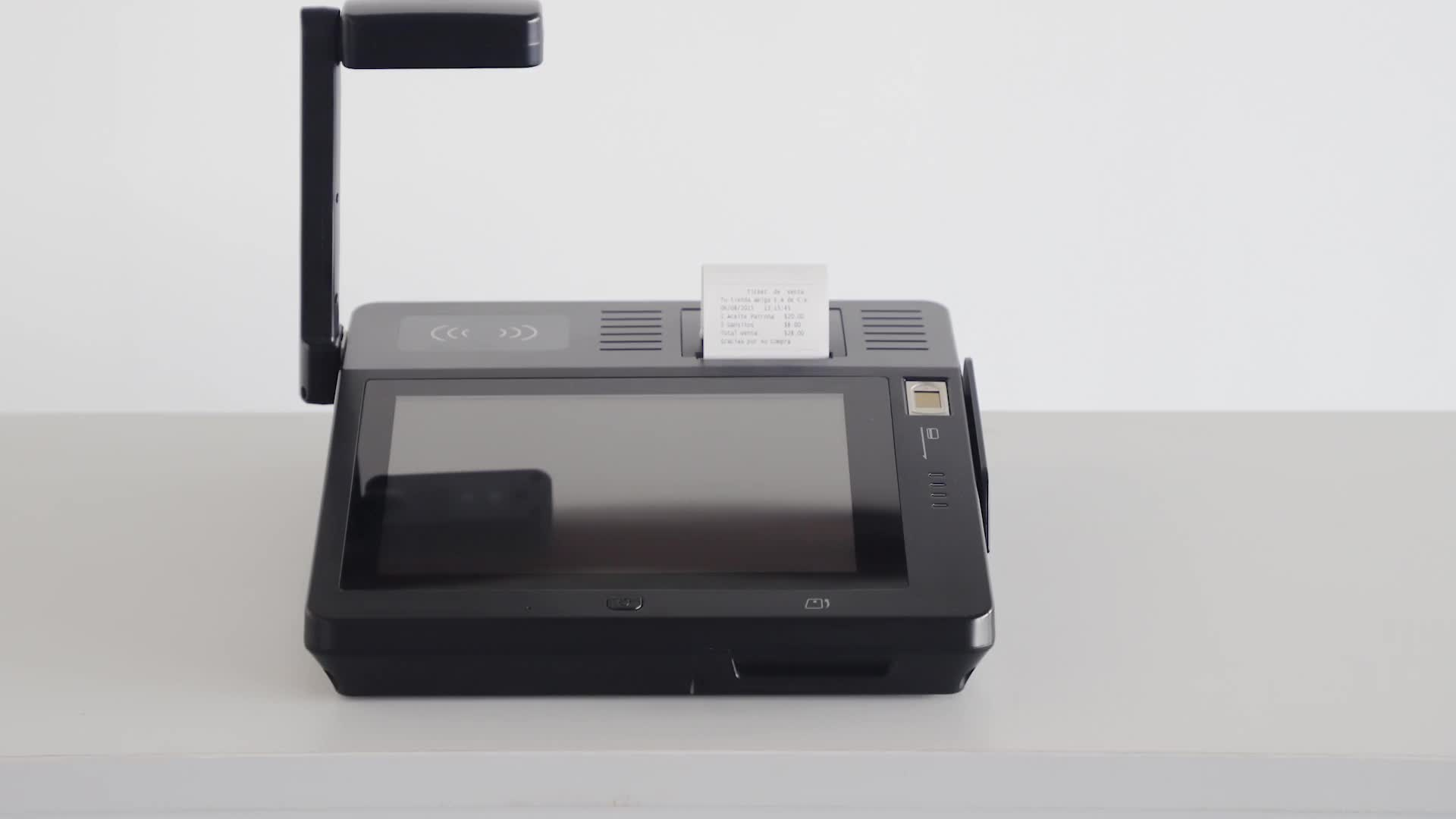 best double touch screen dual display android point of sale pos system cash register machine terminal device